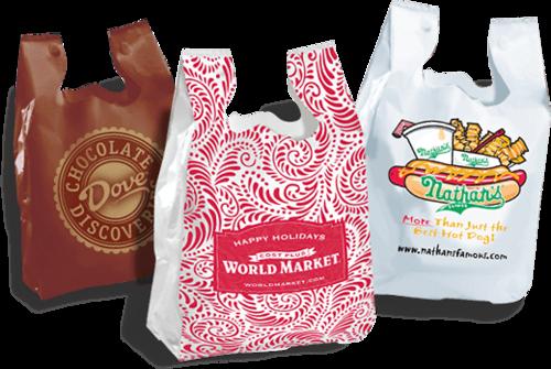 Çeşitli reklam el çantaları: